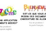 10 - Bewerber-Services - Fremdsprachen