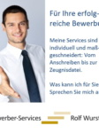 Bewerber-Services | Rolf Wurster. Zeitgemäß Bewerben.