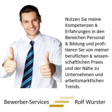 Bewerber-Services | Rolf Wurster.